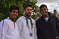 Somdev Devvarman, coach & Rohan Bopanna (19887861452).jpg