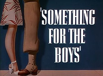 Something for the Boys (film) - Image: Something for the Boys (1944)