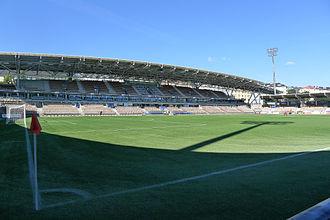 Helsingin Jalkapalloklubi - Telia 5G -areena, located in the Töölö district of Helsinki.