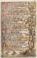 Songs of Innocence and of Experience, copy N, 1795 (Henry E. Huntington Library and Art Gallery) object 25-53 The School Boy.png