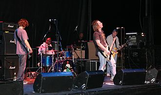 Grammy Award for Best Rock Song - Members of the 1994 award-winning band Soul Asylum in 2010