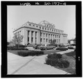 South and west elevations - Gary Municipal Building, 401 Broadway, Gary, Lake County, IN HABS IND,45-GRAY,1-4.tif