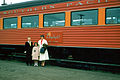 Southern Pacific Railroad Coast Daylight Coach, 1956.jpg