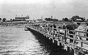 City of Gold Coast - Southport Pier, 1910