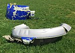 Southwest Airlines Flight 1380 piece of the engine cowling 1 PHL KPHL.jpg