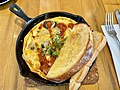 Spanish omelette at Botellón Restaurant, 2021.jpg