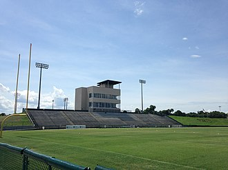 Central Florida Warriors - Spec Martin stadium main grandstand
