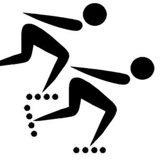 Central American Games - Image: Speed rolling pictogram