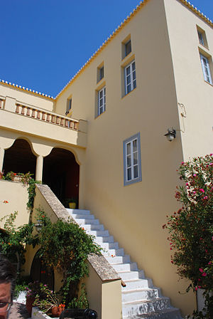House of Laskarina Bouboulina, in Spetses.