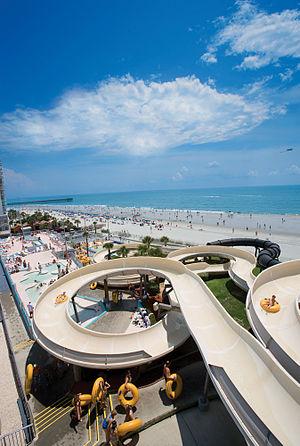 Family Kingdom Amusement Park - Image: Splashes Oceanfront Water Park