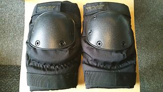 Knee pad - Military style knee pads made by the Russian company Splav