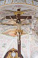 St. Andreas (Babenhausen) - cross hanging from the ceiling.jpg