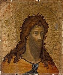 Paolo Veneziano: St. John the Baptist (fragment)