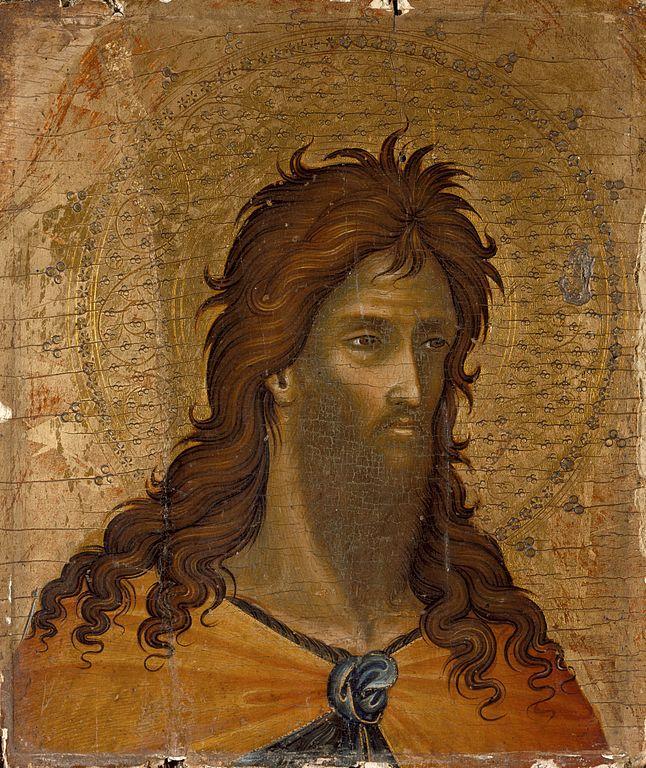 Paolo Veneziano - Page 2 646px-St._John_the_Baptist_%28fragment%29_LACMA_47.11.2