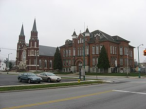 St. Joseph Catholic Church and School (church ...