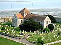 St. Mary's, Portchester in its churchyard - geograph.org.uk - 664523.jpg