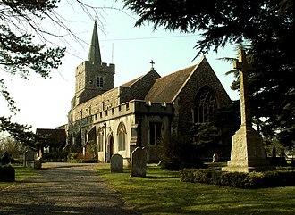 Kelvedon - Image: St. Mary the Virgin church, Kelvedon, Essex geograph.org.uk 137305
