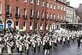 St. Patrick's Day Parade (2013) In Dublin - Purdue University All-American Marching Band, Indiana, USA (8565465695).jpg