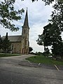 St. Peter Lutheran Church (1847) Schaumburg, Illinois- The road from the old Center School to the church.jpg