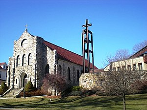 Moscow, Pennsylvania - Image: St Catherine Moscow
