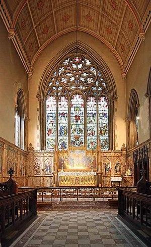 St Gabriel's, Warwick Square - Church interior, St Gabriel's Church, Warwick Square