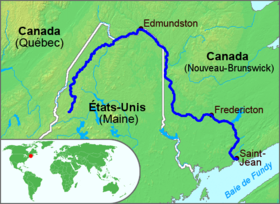 Image illustrative de l'article Fleuve Saint-Jean