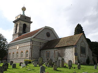 St Lawrences Church, West Wycombe Church in West Wycombe, England