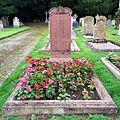 St Mary's Church Eccleston, Old Churchyard - grave of Anne Winifred Nancy (née Sullivan), widow of 2nd Duke of Westminster.JPG