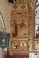 St Michael and All Angels, Hughenden, Bucks - Wall painting in chancel - geograph.org.uk - 1116589.jpg