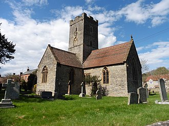 St Michael and All Angels Church, Bawdrip (geograph 4906439).jpg