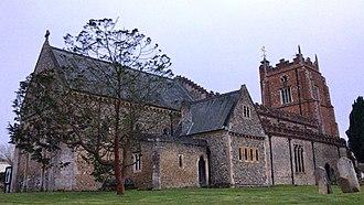 Castle Hedingham - Exterior, St Nicholas' Church, Castle Hedingham