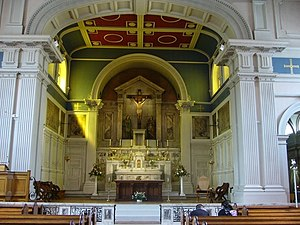 St Patrick's Church, Edinburgh - Interior