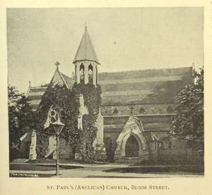 St. Paul's, Bloor Street - Image: St Paul Anglican, Toronto