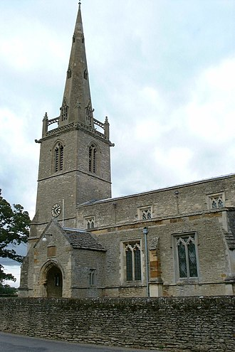 Easton Maudit - Image: St Peter and St Paul's Church, Easton Maudit geograph 3217167 by Dave Kelly