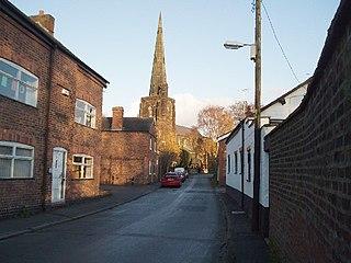 Davenham Human settlement in England
