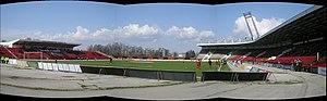 Lokomotiv Stadium (Sofia) - Image: Stadion Lokomotiv