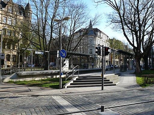 Stadtbahnhaltestelle Daimlerplatz