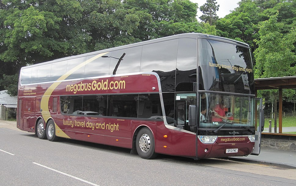 Megabus Europe Howling Pixel