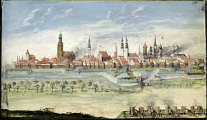 Wrocław - Battle of Breslau during the Seven Years' War (Third Silesian War 1756–1763)