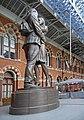 Statue, St Pancras, London - geograph.org.uk - 1165204.jpg