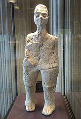 Statue de forme humaine