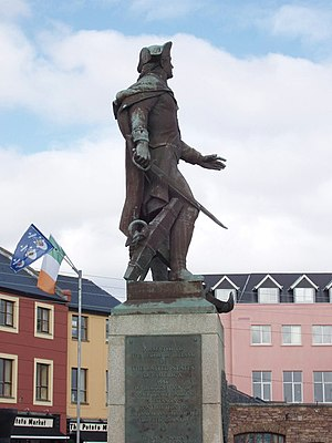 John Barry (naval officer) - Image: Statue of Commodore Barry, Wexford geograph.org.uk 1249171
