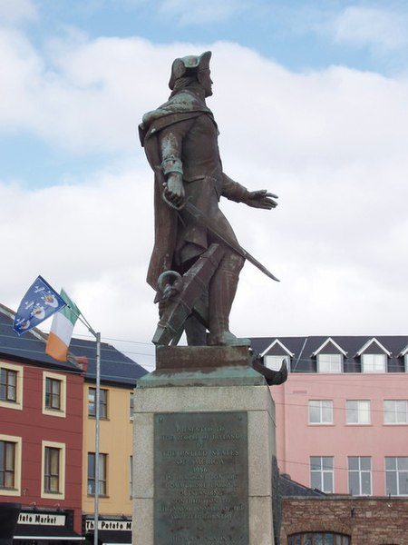 File:Statue of Commodore Barry, Wexford - geograph.org.uk - 1249171.jpg