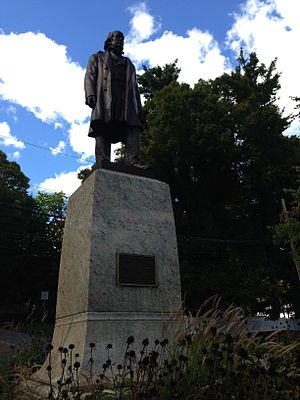 Chappaqua, New York - Statue of Horace Greeley in Chappaqua