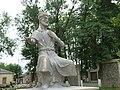 Statue of Molla Panah Vagif in Guba.jpg