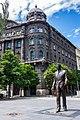 Statue of Ronald Reagan, Hungary - Budapest (28492959125).jpg