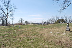 St. Deroin, Nebraska - St. Deroin Cemetery