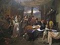 Steen, Jan Havickszoon - The Marriage of Tobias and Sarah - c. 1673.jpg