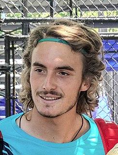 Stefanos Tsitsipas Greek tennis player