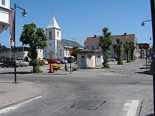 Kungsbacka Place in Halland, Sweden